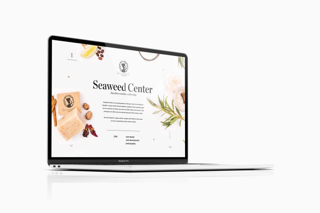 Seaweed Center eCommerce